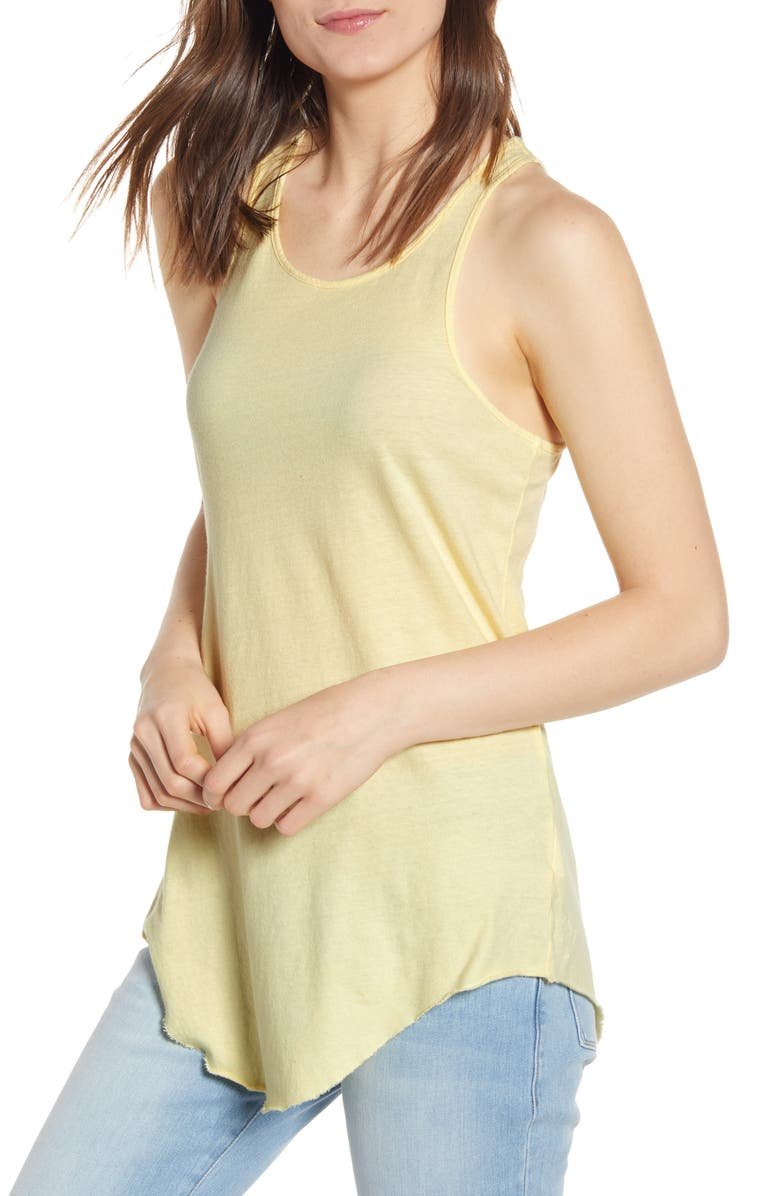 FRANK & EILEEN Tee Lab Base Layer Tank, Main, color, CANARY YELLOW