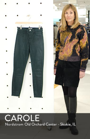 Margot Coated Crop Skinny Jeans, sales video thumbnail