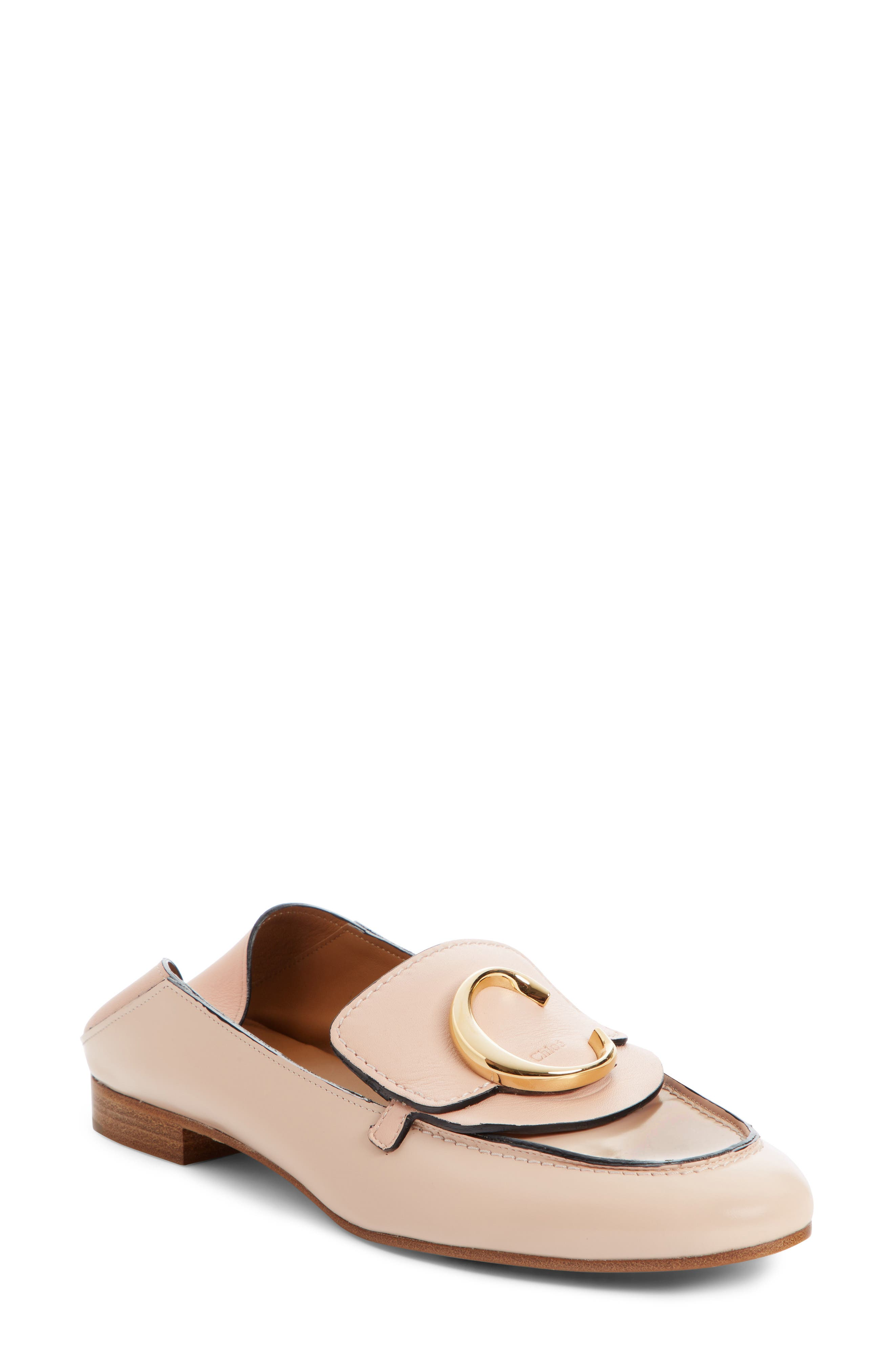 Chloe Story Convertible Loafer, Pink