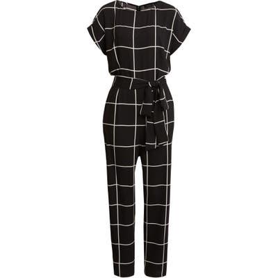 Halogen Short Sleeve Jumpsuit, (similar to 1) - Black