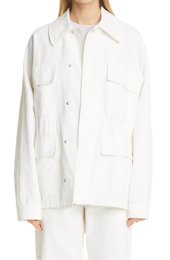 Stella Mccartney SAM OVERSIZE SHIRT JACKET