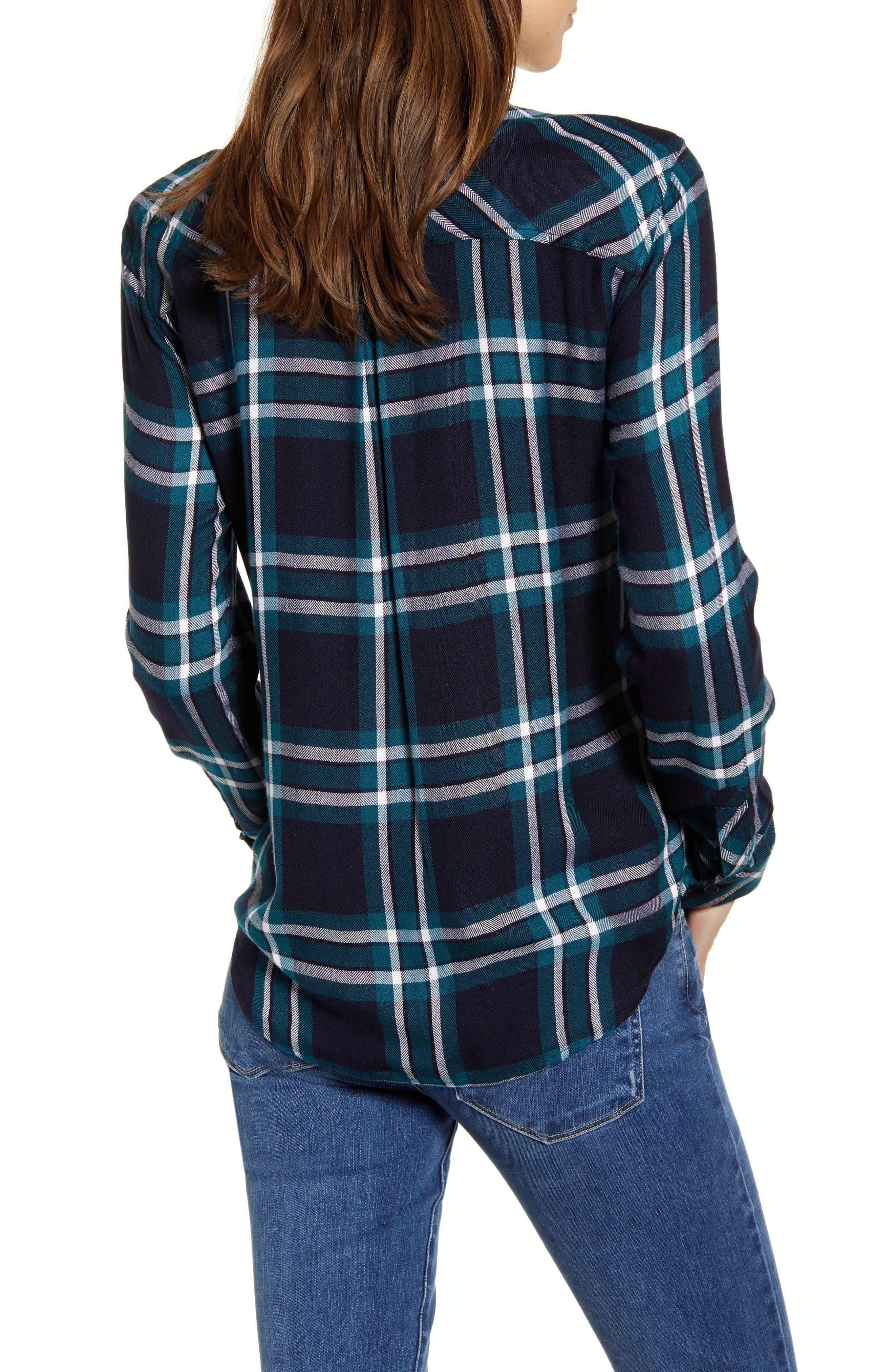 ,                             Hunter Plaid Shirt,                             Alternate thumbnail 39, color,                             423
