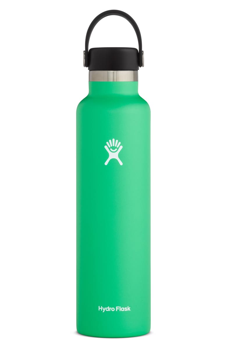 HYDRO FLASK 24-Ounce Standard Mouth Bottle, Main, color, SPEARMINT