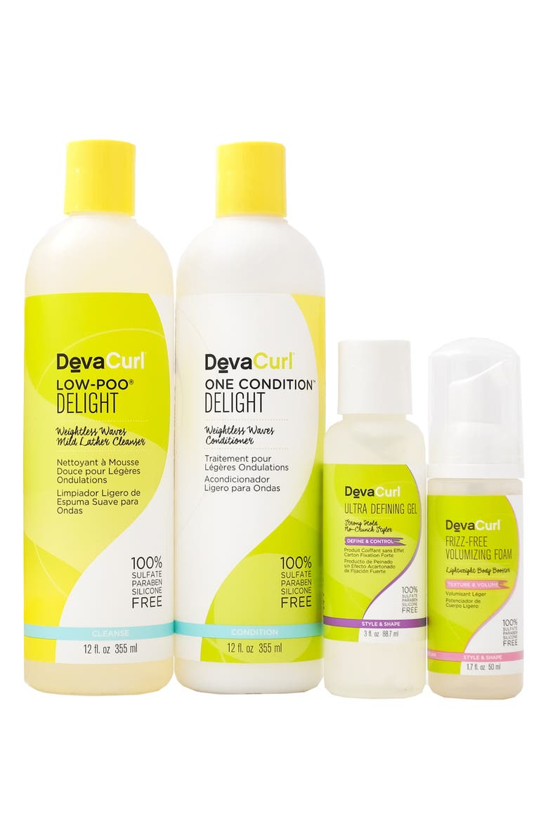 DEVACURL Share the Wavy Love Cleanser, Conditioner & Styler Kit for Wavy Hair, Main, color, NO COLOR