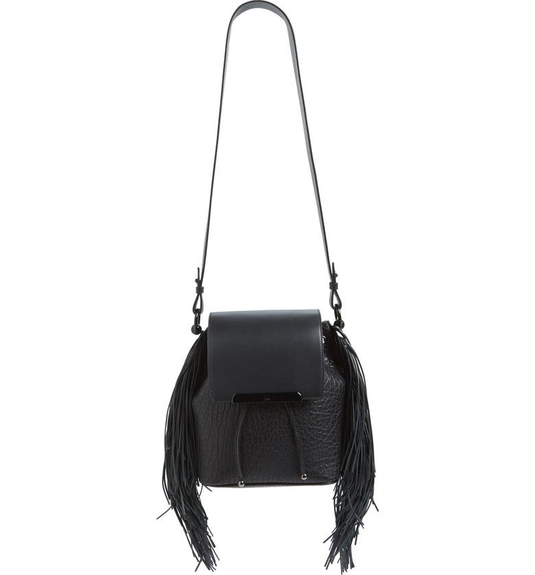 5a41e6a069 Christian Louboutin 'Lucky L' Convertible Fringe Backpack | Nordstrom
