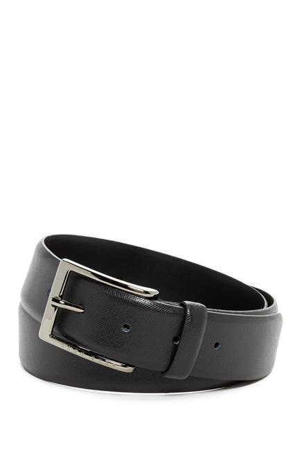 Image of BOSS Saffiano Leather Belt