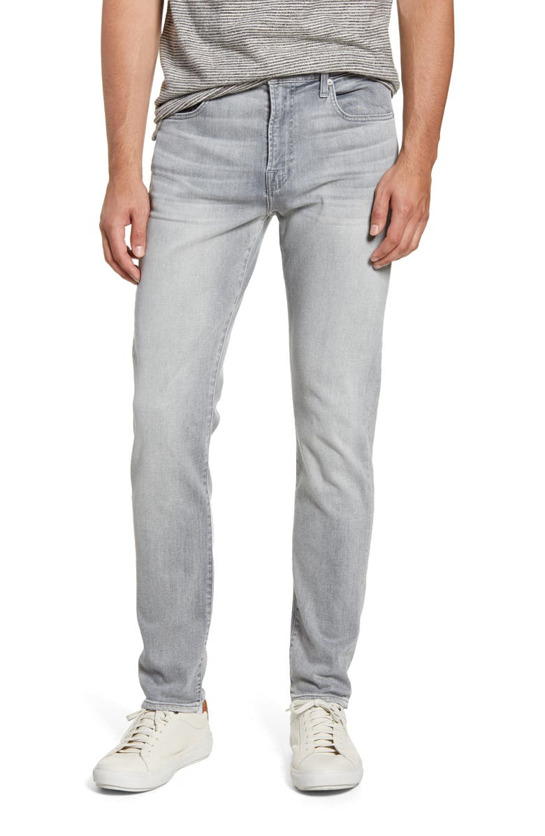 7 FOR ALL MANKIND<SUP>®</SUP> Adrien Slim Fit Jeans, Main, color, ALTRUIST GREY