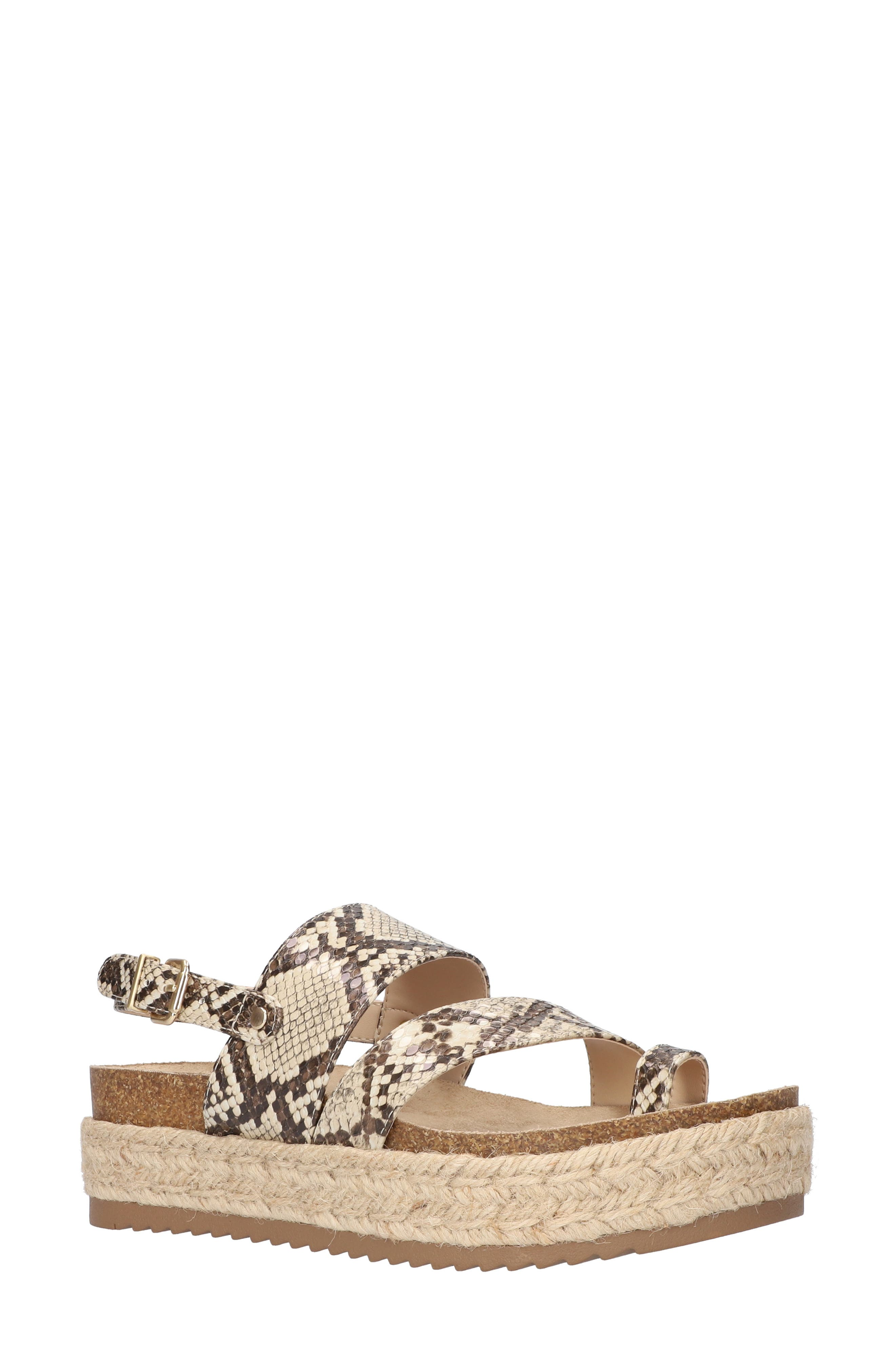 Rosita Slingback Platform Sandal