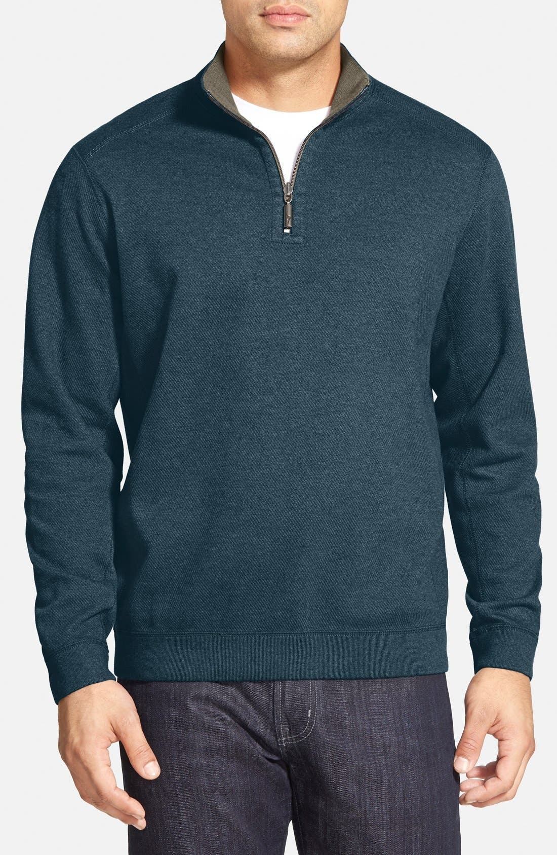,                             'Flip Side' Reversible Quarter Zip Pullover,                             Main thumbnail 59, color,                             305