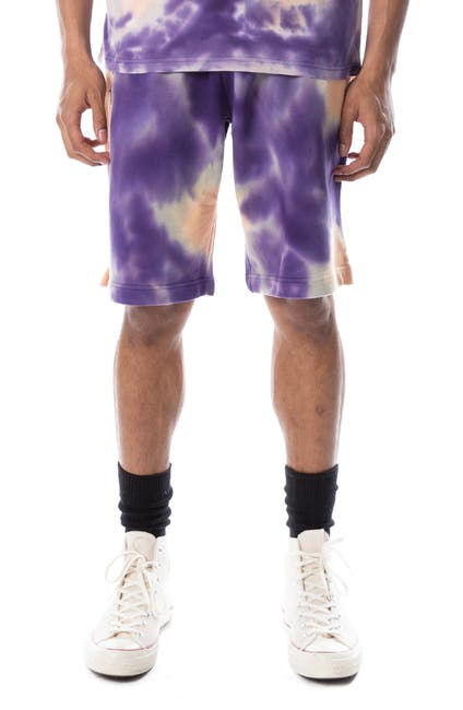 Image of Kappa Active Authentic Cyntu Tie Dye Print Shorts