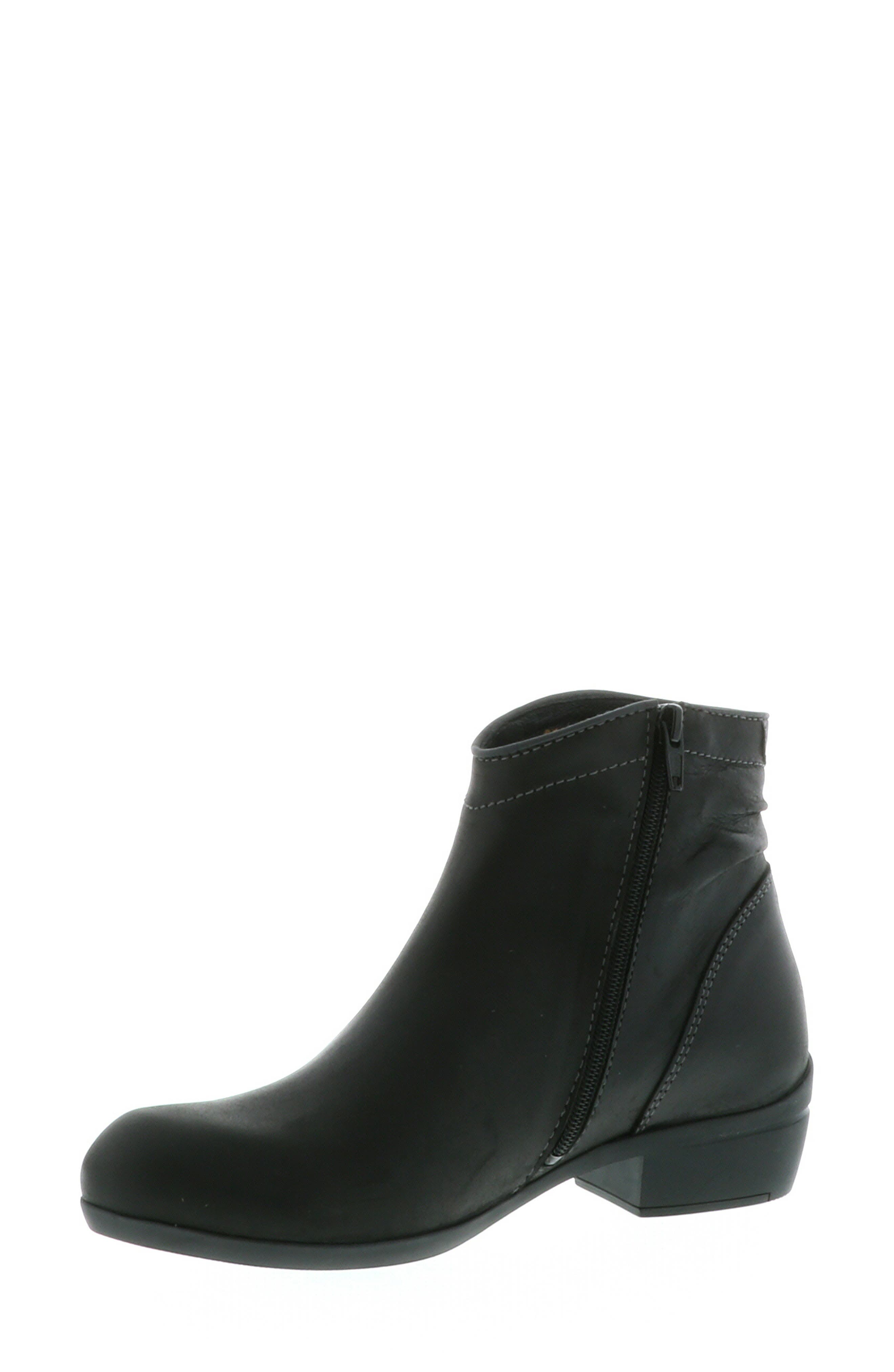 ,                             Winchester Bootie,                             Alternate thumbnail 11, color,                             BLACK/ BLACK LEATHER