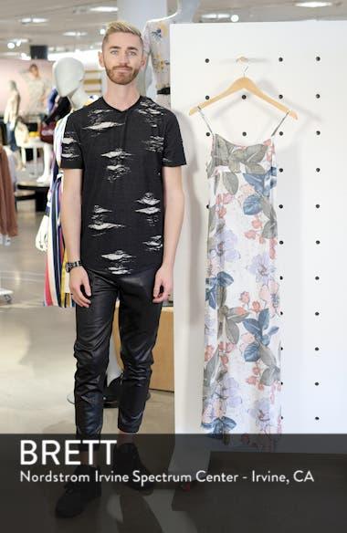 Koinne Floral Print Maxi Dress, sales video thumbnail