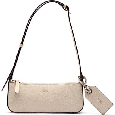 Frances Valentine Boarskin Leather Baguette Bag - Ivory