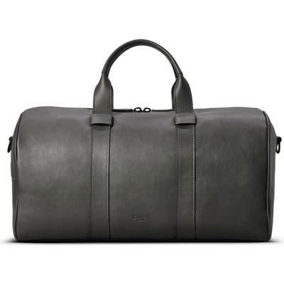 Shinola Guardian Leather Duffle Bag - Grey