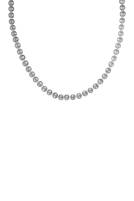 Image of Splendid Pearls 14K Gold Plated 7-8mm Freshwater Pearl Necklace