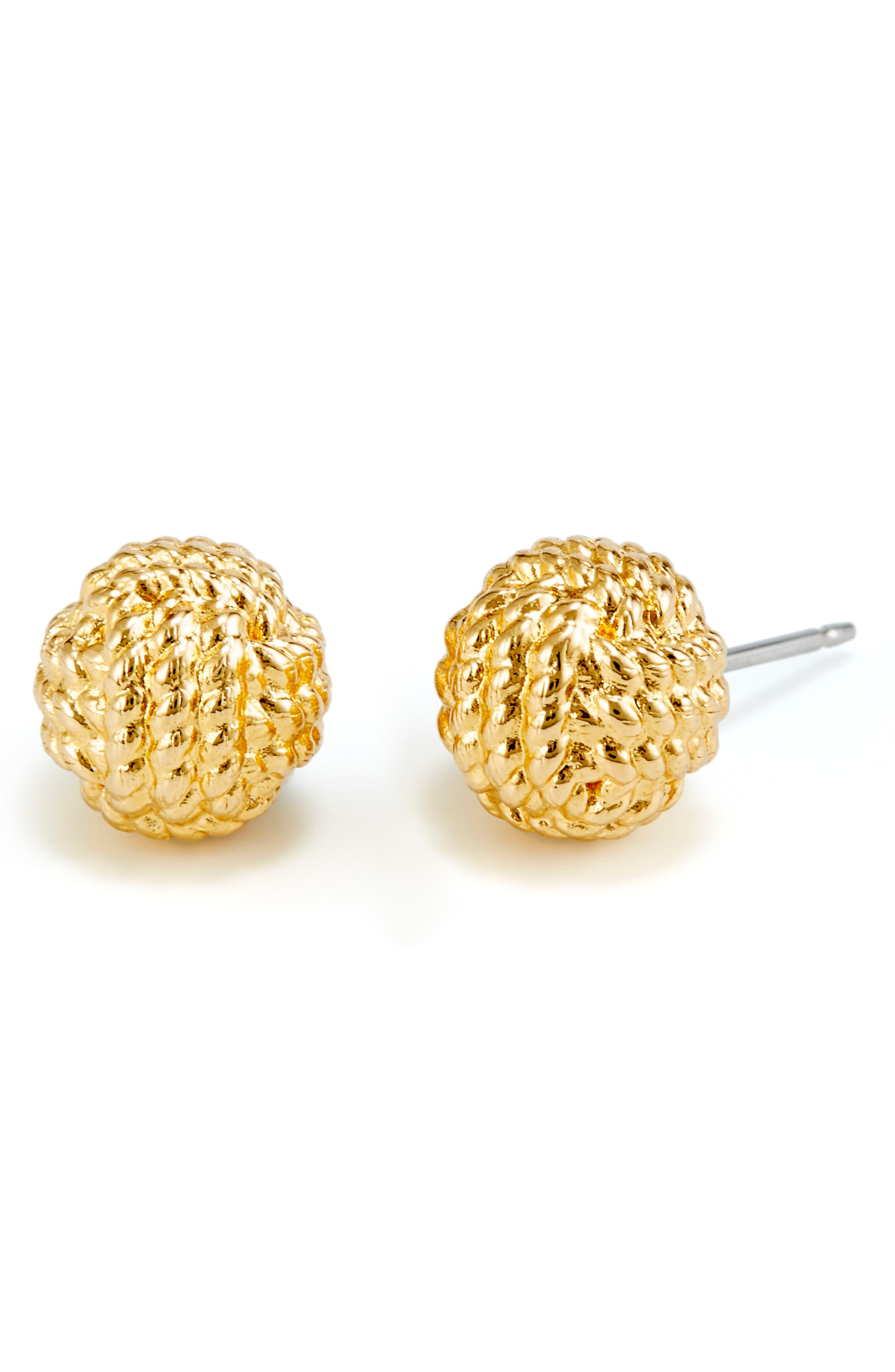 Parker Knot Stud Earrings