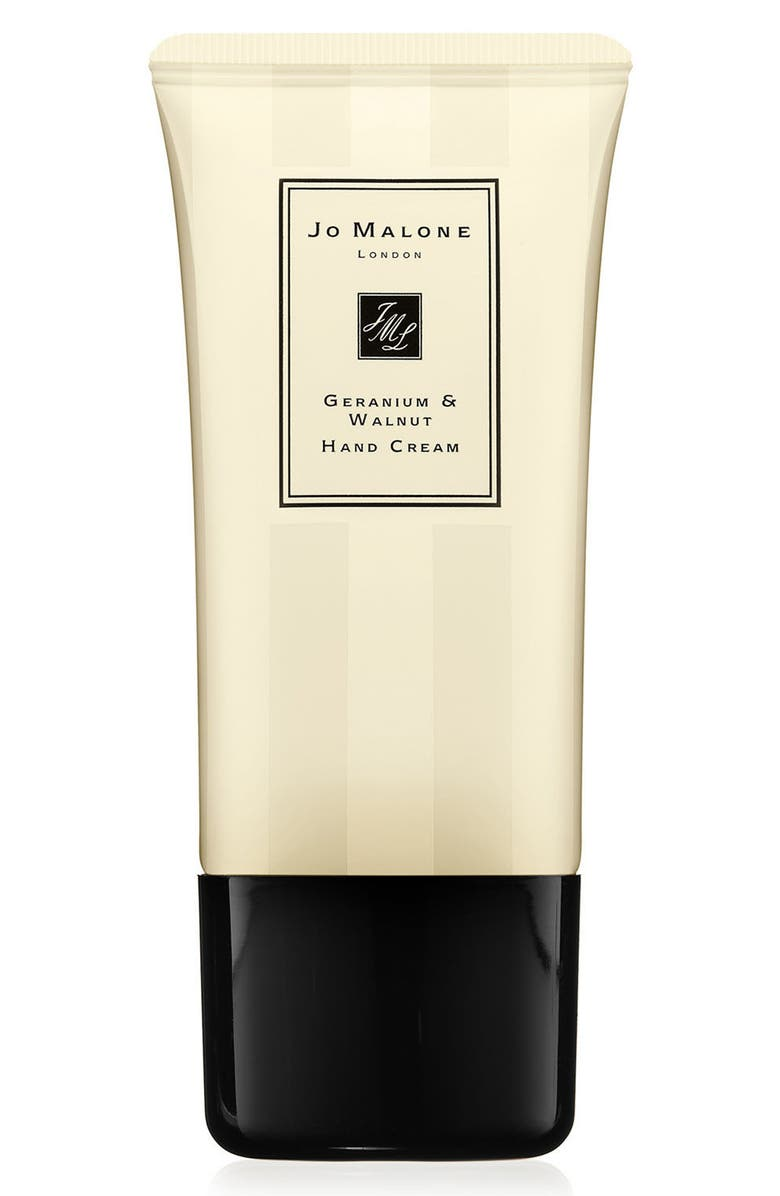 JO MALONE LONDON<SUP>™</SUP> Geranium & Walnut Hand Cream, Main, color, 000