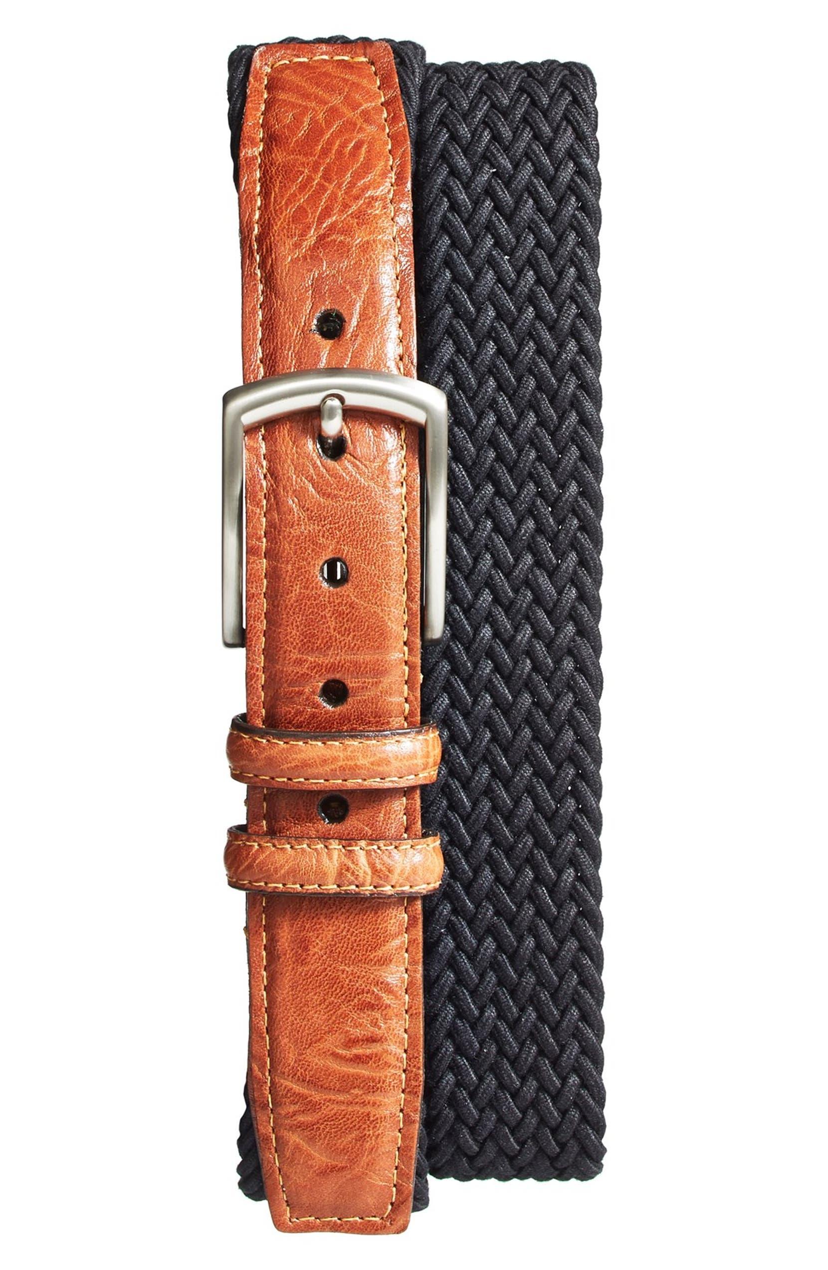 d2a75f5bd6 Braided Stretch Cotton Belt