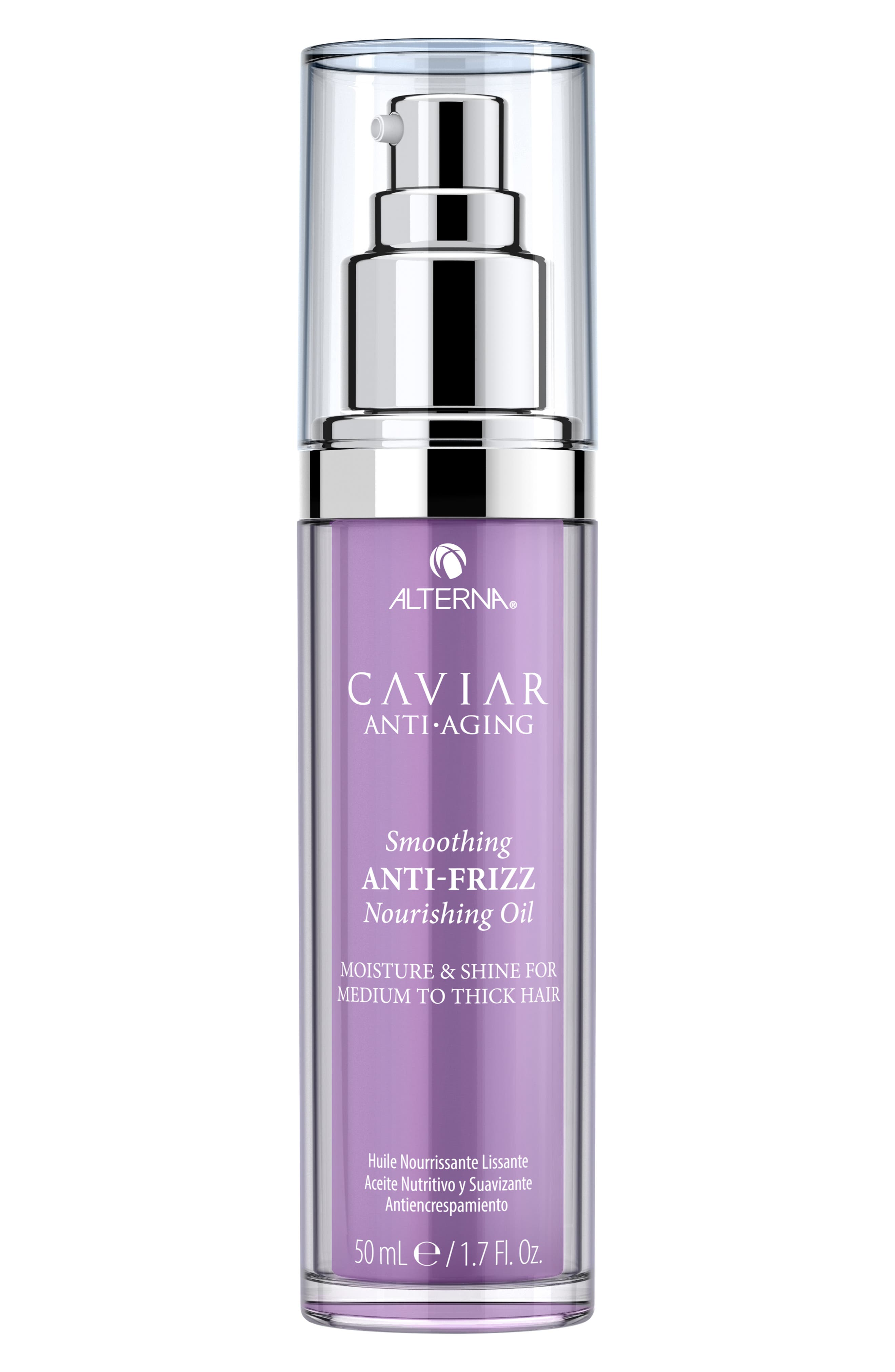 ALTERNA(R) Caviar Anti-Aging Smoothing Anti-Frizz Nourishing Oil in No Color at Nordstrom