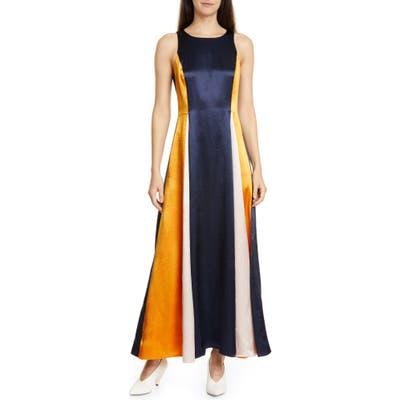 Hugo Kanisi Colorblock Maxi Dress, Blue