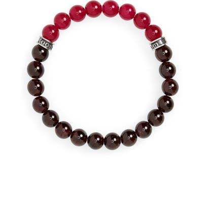Room101 Garnet & Agate Bead Bracelet