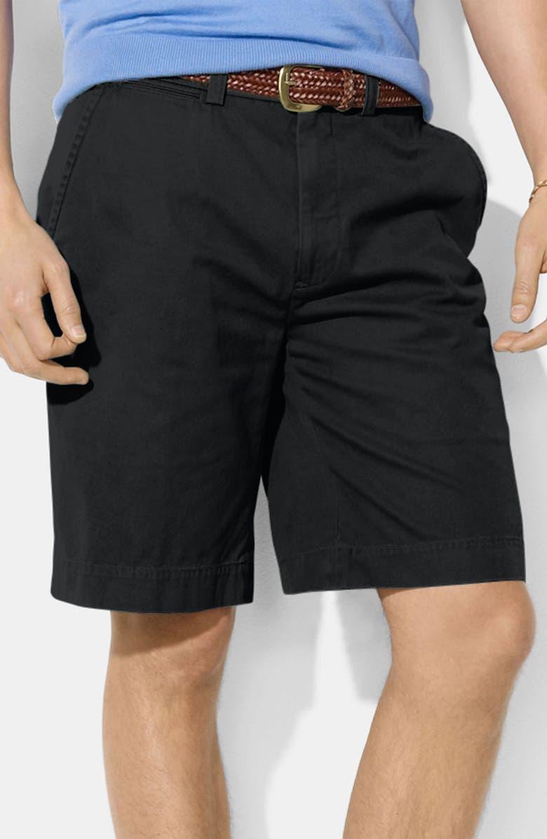 POLO RALPH LAUREN 'G.I.' Classic Fit Shorts, Main, color, 001