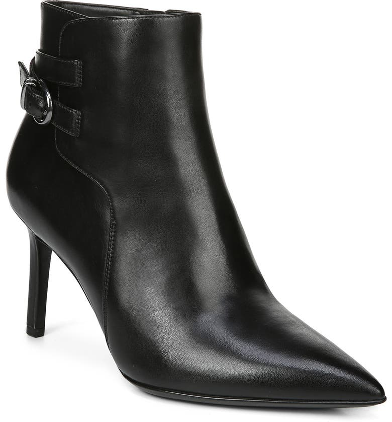 NATURALIZER Alaina Bootie, Main, color, BLACK LEATHER