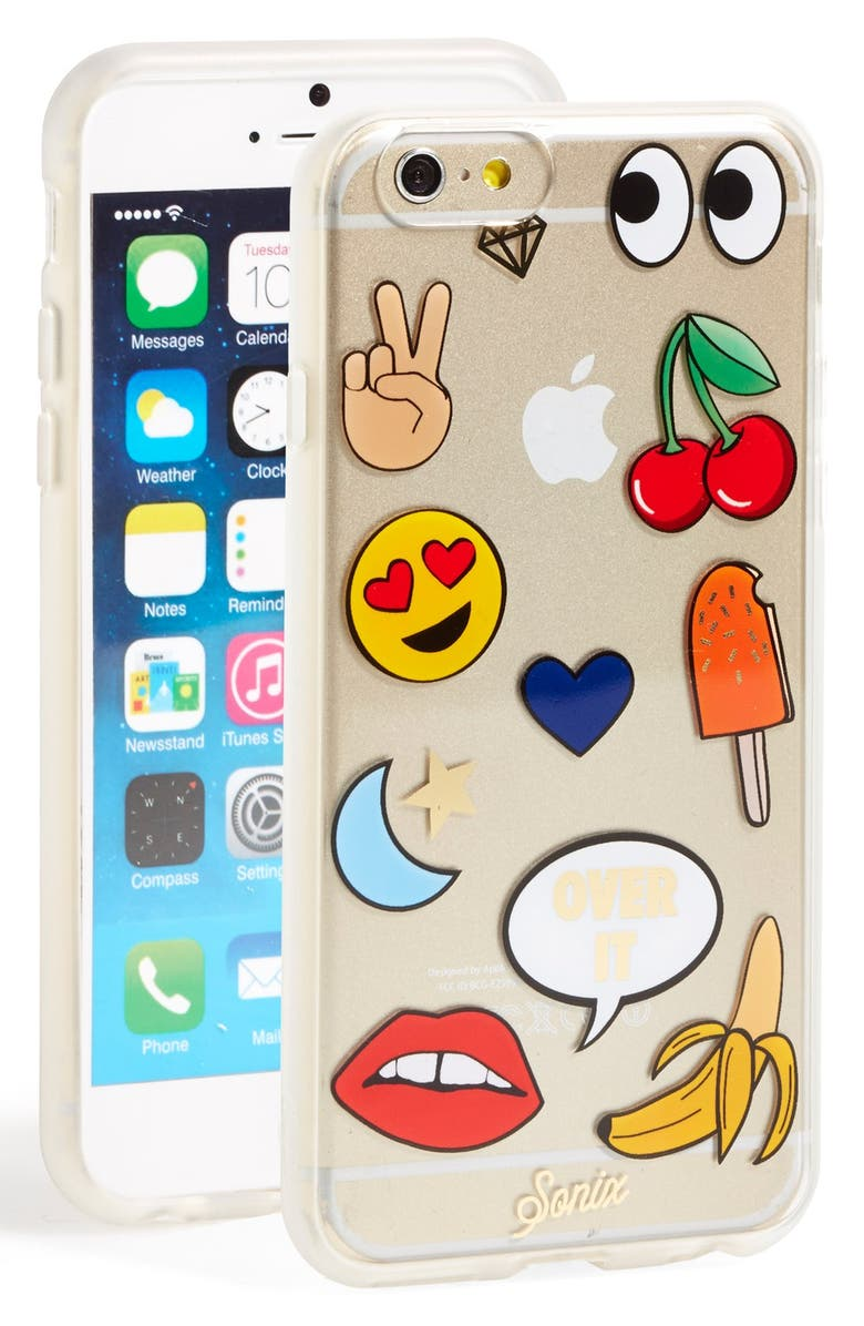 SONIX 'Emoticon' iPhone 6 & 6s Case, Main, color, 700
