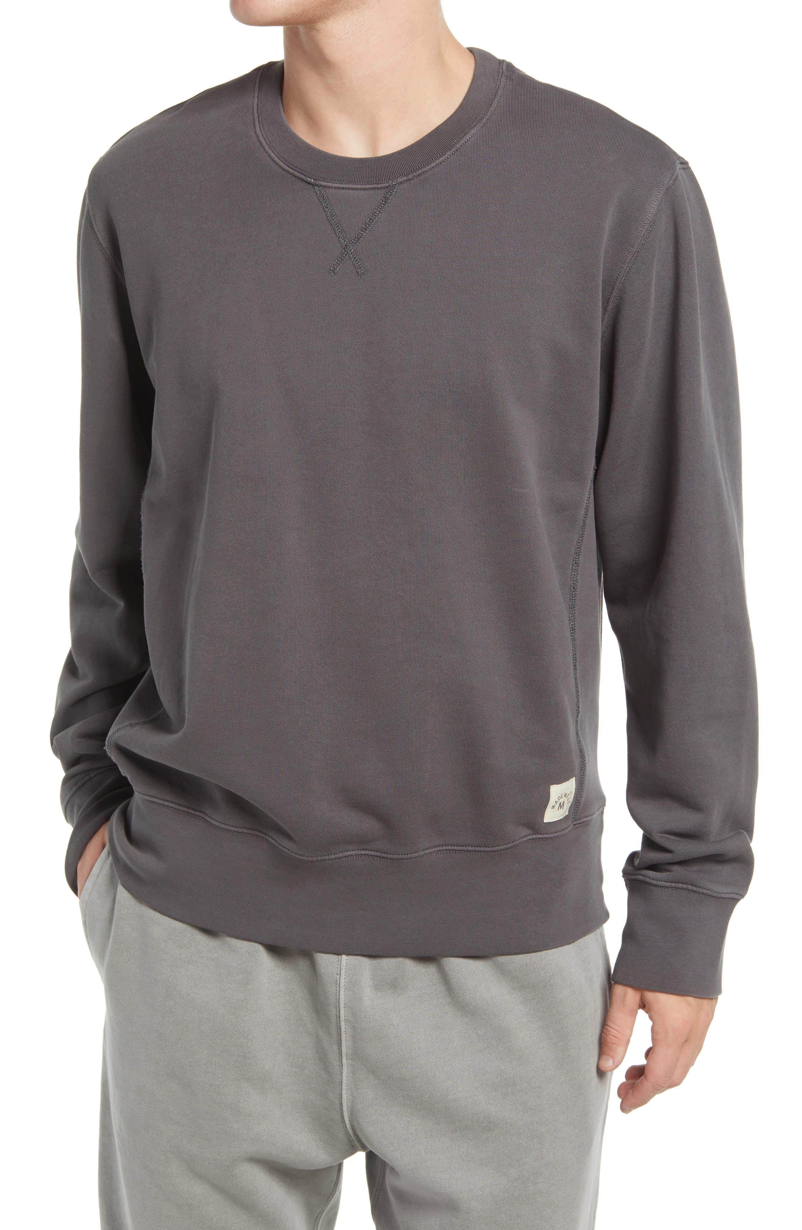 Vintage Terry Boxy Crewneck Sweatshirt
