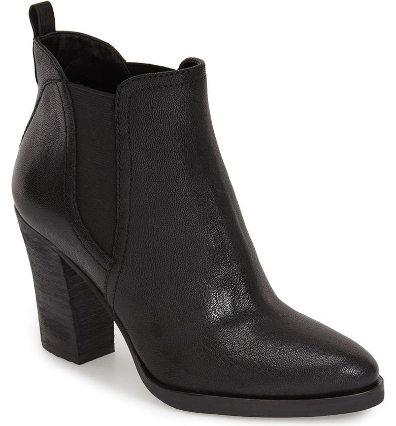 MARC FISHER LTD 'Mallory' Chelsea Boot, Main, color, 001