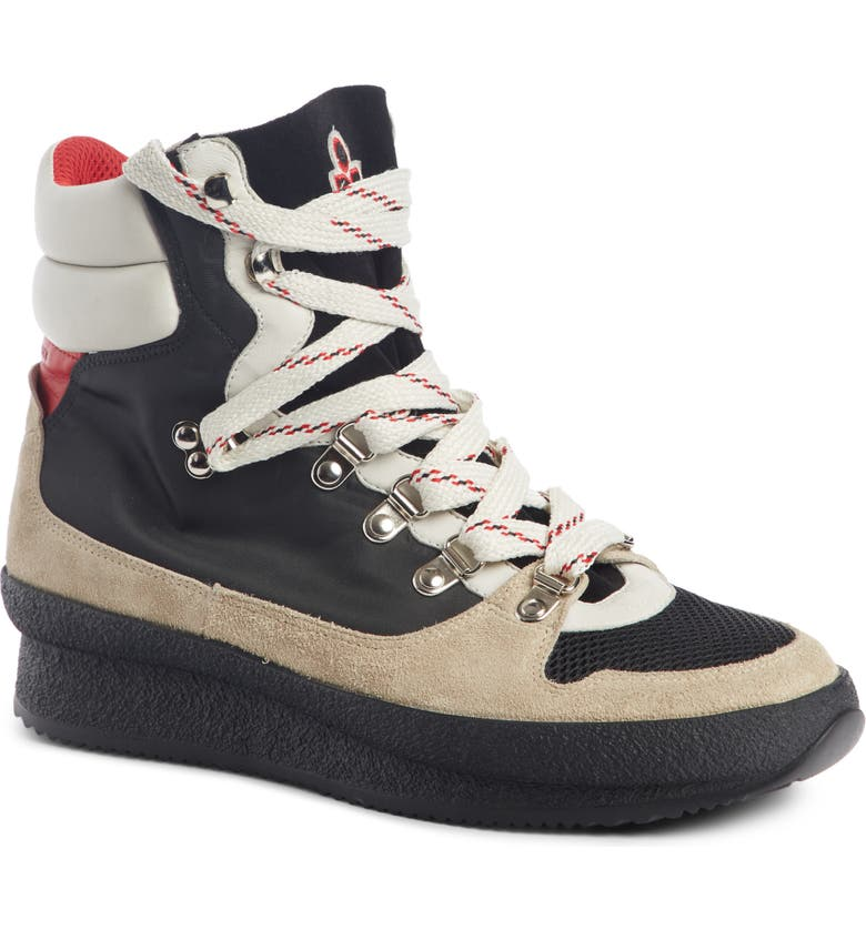 ISABEL MARANT Brendta High Top Sneaker Boot, Main, color, 001