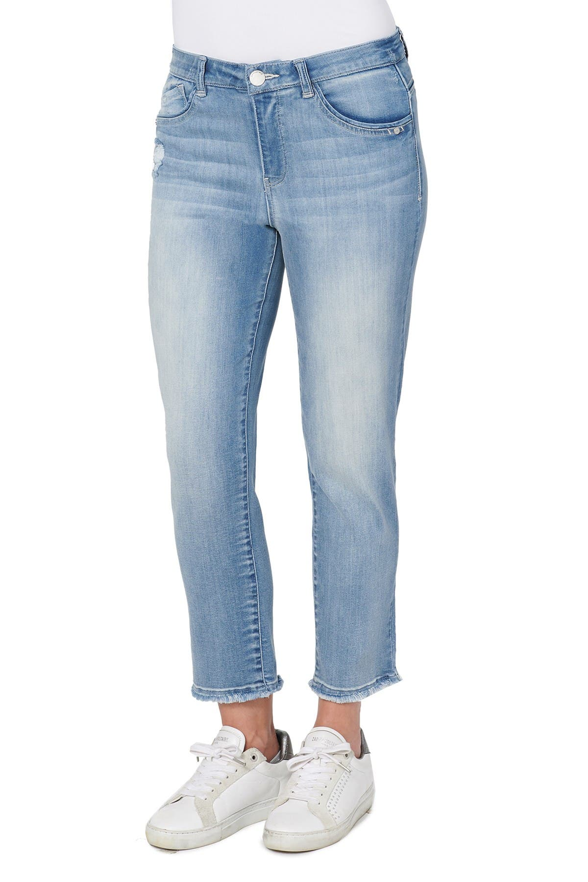 Image of Democracy Ab Solution High Rise Slim Straight Jeans