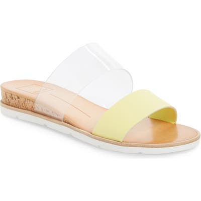 Dolce Vita Vala Wedge Slide Sandal, Yellow