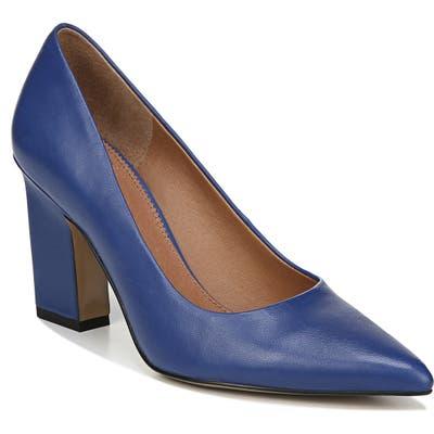 Sarto By Franco Sarto Sasha Pointy Toe Pump- Blue