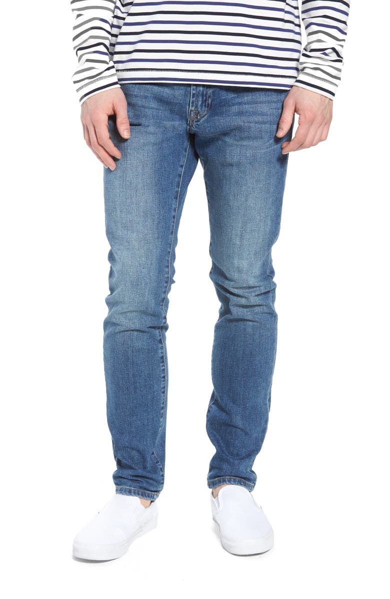 LIVERPOOL Bond Skinny Fit Jeans, Main, color, 401