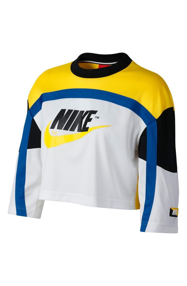 201a01a1622 Sportswear Women's Moto Crop Top, Main, color, ...
