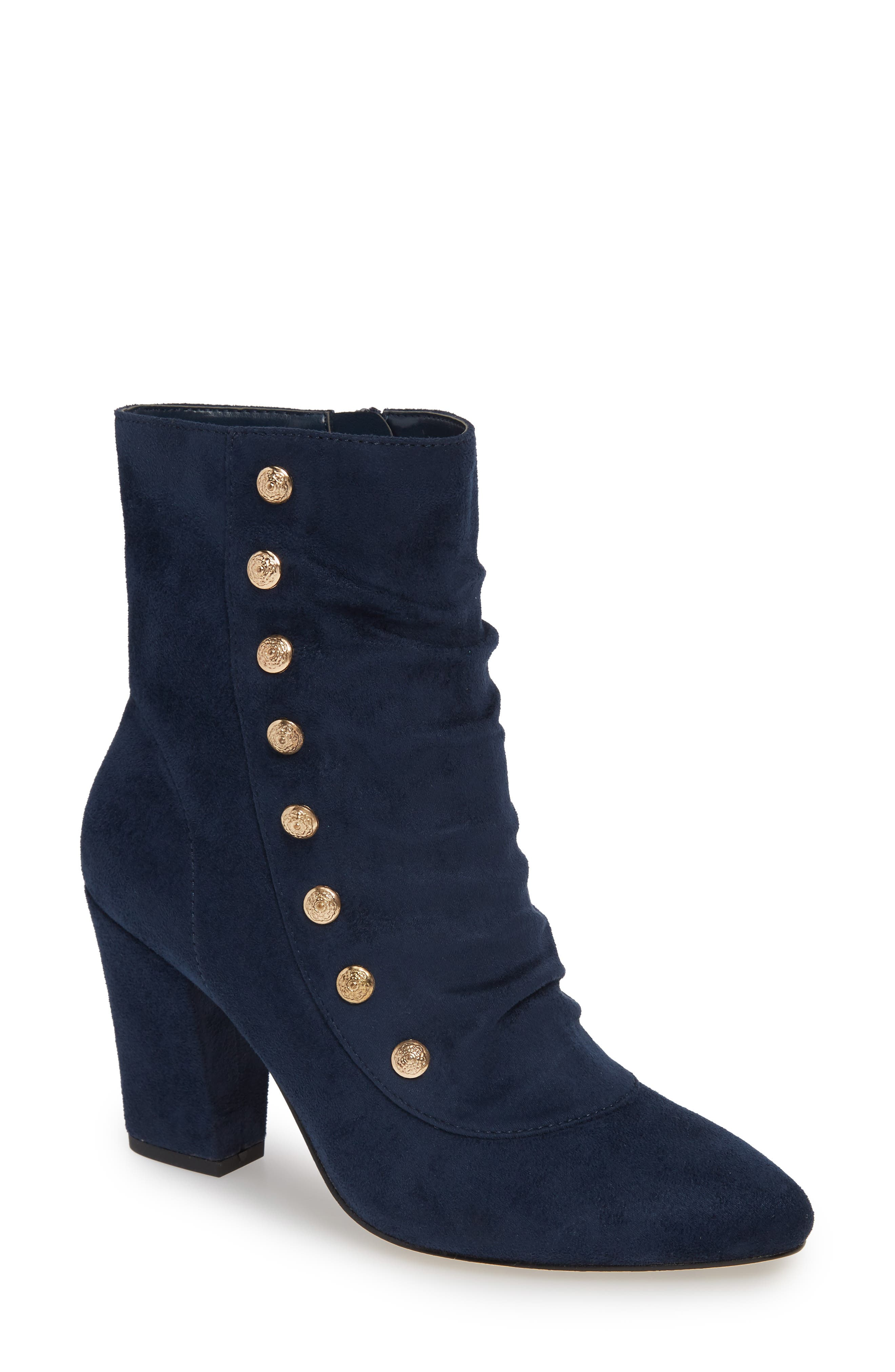 Bella Vita Gillian Ii Bootie, Blue