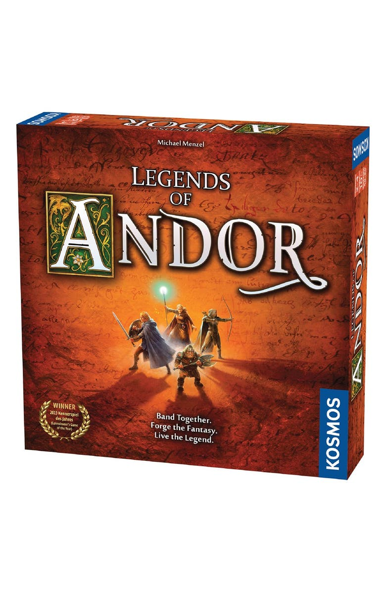 THAMES & KOSMOS 'Legends of Andor' Base Board Game, Main, color, BROWN