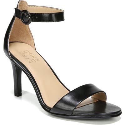 Naturalizer Kinsley Ankle Strap Sandal- Black