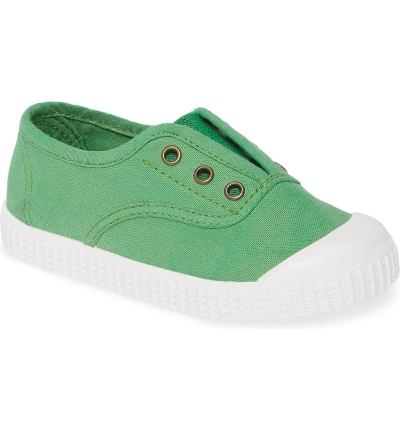 VICTORIA SHOES Inglesa Slip-On Sneaker, Main, color, CLOVER