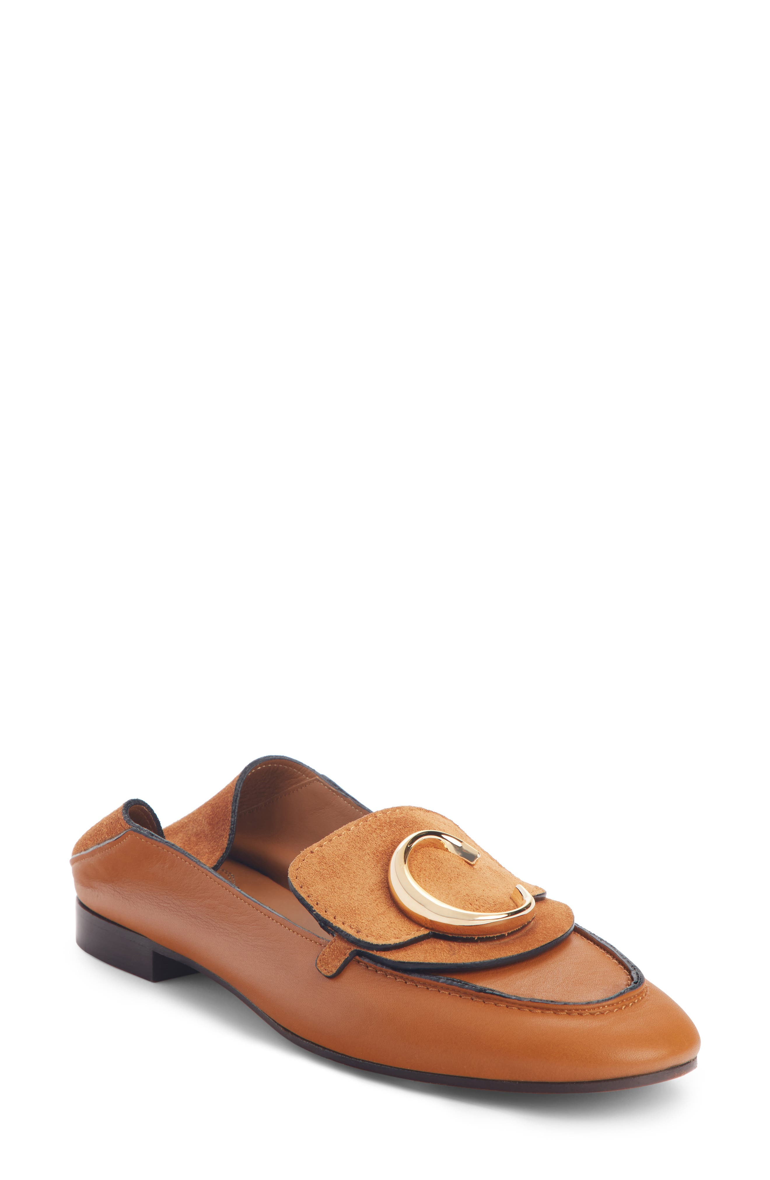 Chloe C Convertible Loafer, Brown