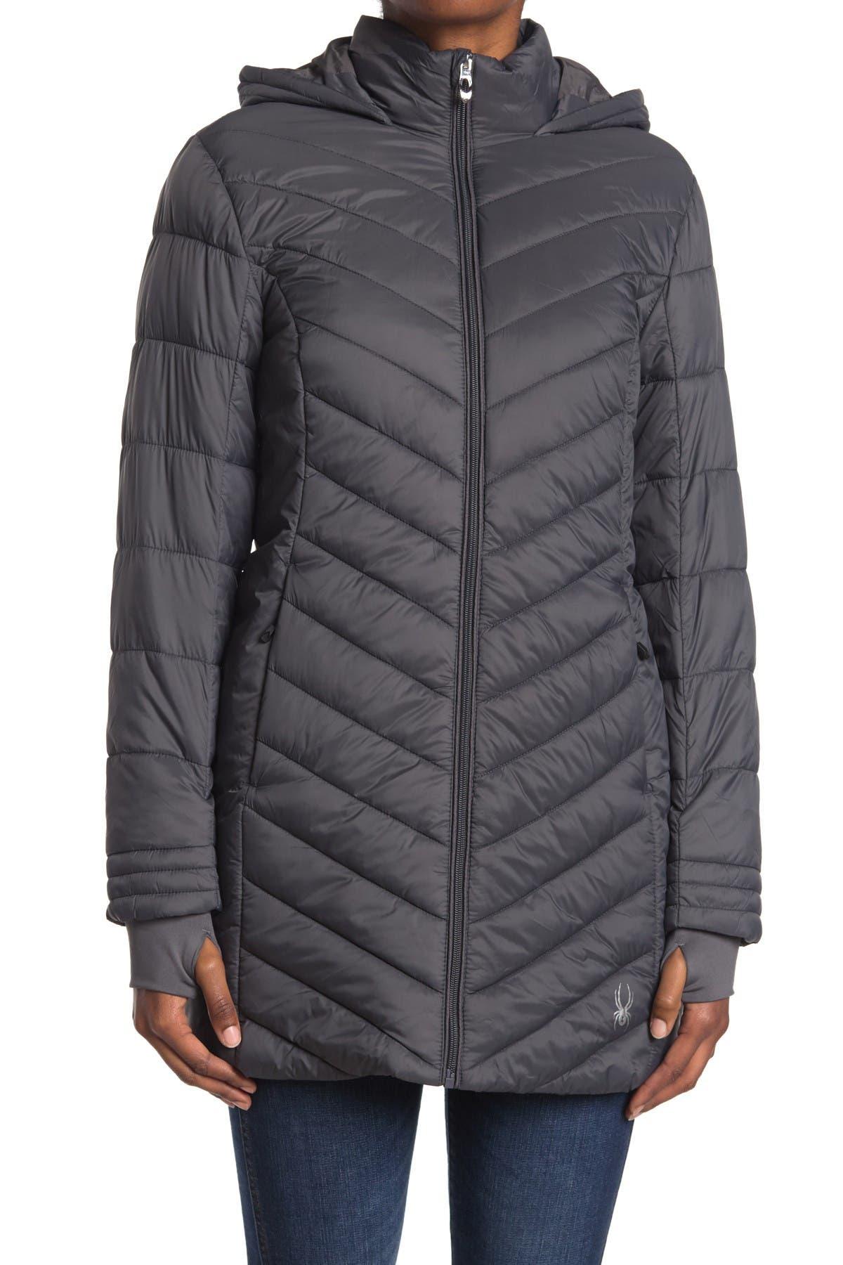SPYDER Boundless Long Puffer Jacket