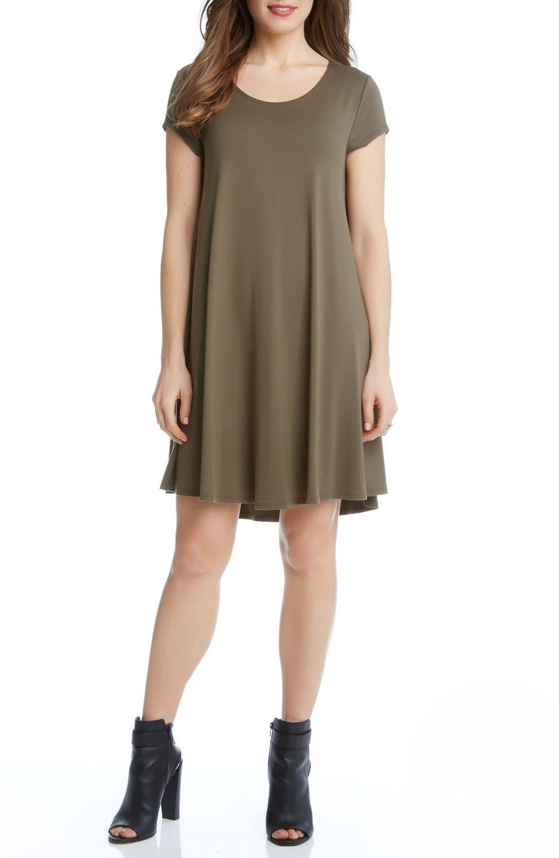 ,                             'Maggie' Cap Sleeve Trapeze Dress,                             Main thumbnail 15, color,                             313
