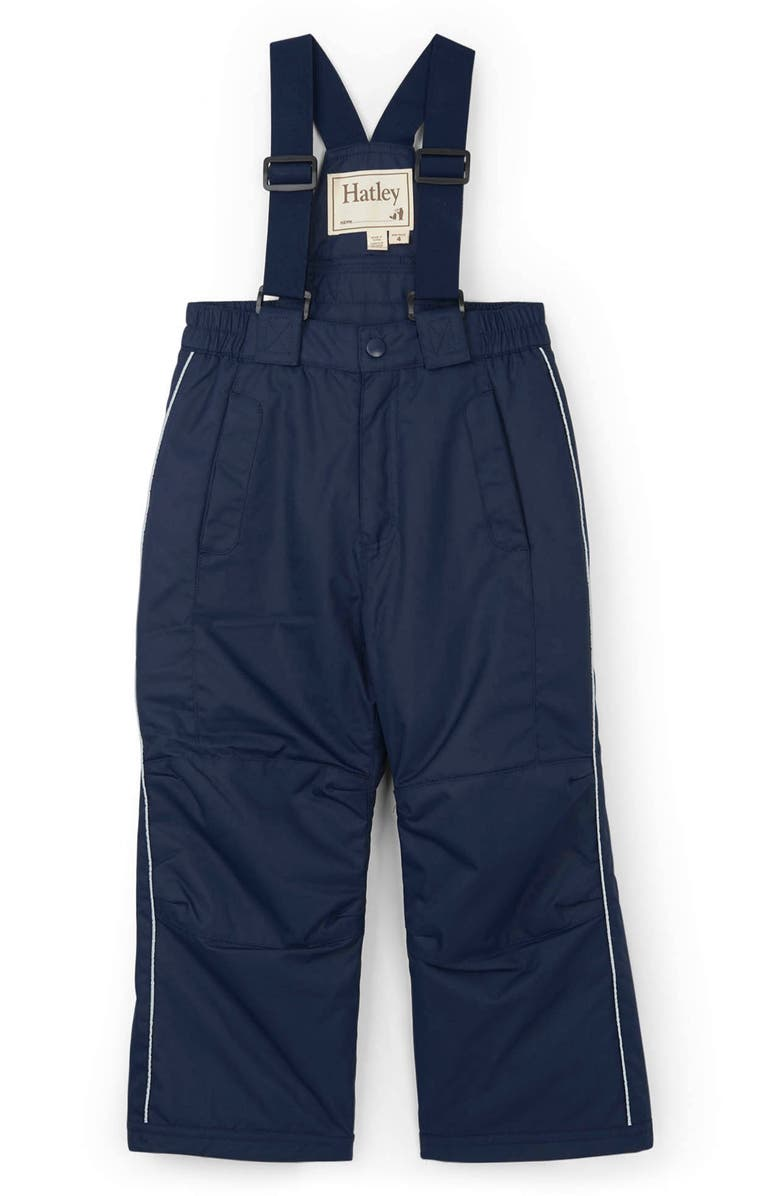 HATLEY Water Resistant Insulated Bib Snow Pants, Main, color, BLUE