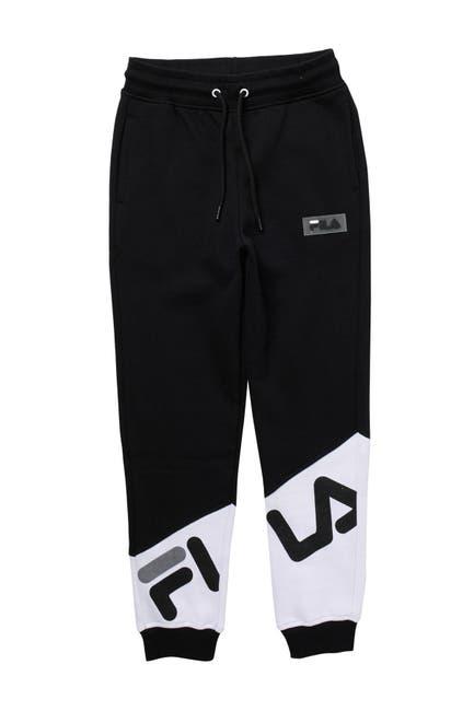 Image of FILA USA Asymmetrical Colorblock Jogger Pants