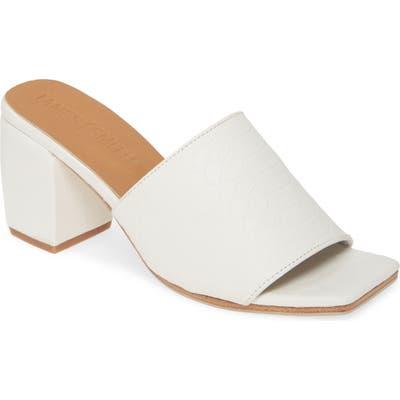 James Smith The Firenze Slide Sandal, White