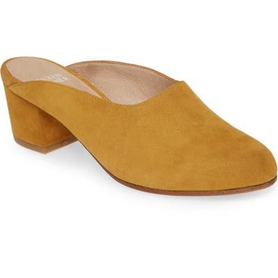 Eileen Fisher Brief Mule- Yellow