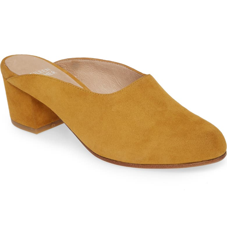EILEEN FISHER Brief Mule, Main, color, ARNICA SUEDE