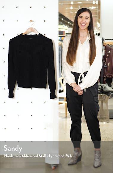 Mrya Metallic Ribbed Sweater, sales video thumbnail