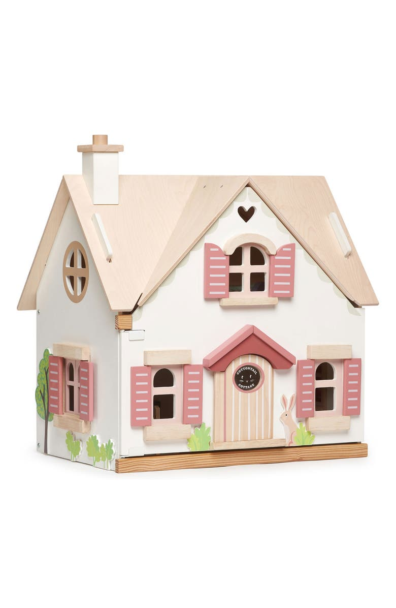 TENDER LEAF TOYS Cottontail Cottage Dollhouse, Main, color, 100